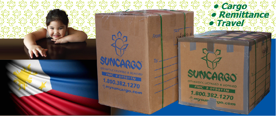 Suncargo Balikbayan Boxes Delivery To Philippines